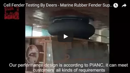 Super Cell Rubber Fender Compress Testing Video