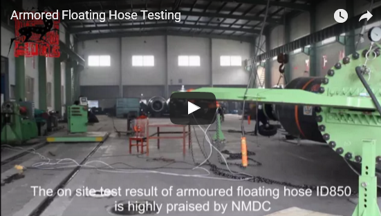 Armored Floating Hose Pressure Testing Video