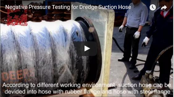 Dredging Suction Hose Testing