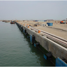 Super Arch Fender For Caofeidian Ore Terminal Dock