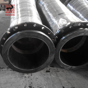 dicharge hose with loose flanges