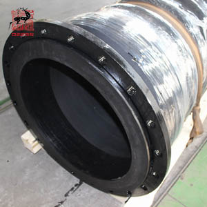 suction hose with loose steel flange