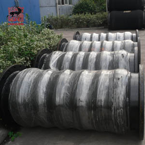 suction hose with steel flange