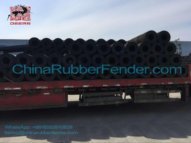 Delivery of Cylindrical Rubber Fender
