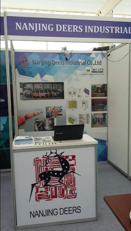 Nanjing Deers Exhibited At AAPA2015 In Chile