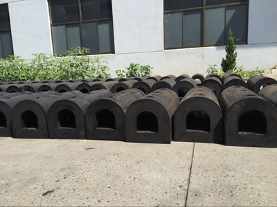 Delivery of D Type Rubber Fender