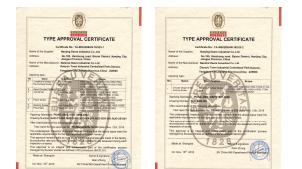 BV-certificates