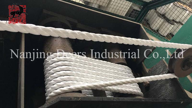 Delivery of Mooring Rope to USA