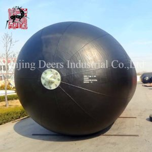 Sling type pneumatic rubber fender