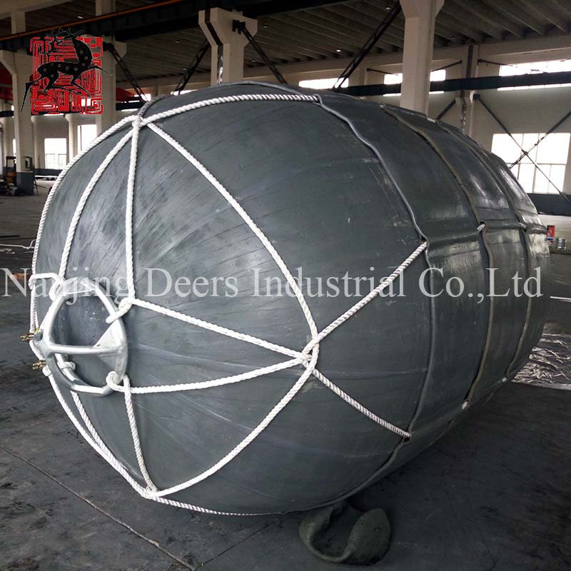 Net type pneumatic rubber fender