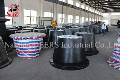 First batch of cone1000H rubber fenders delivered successfully