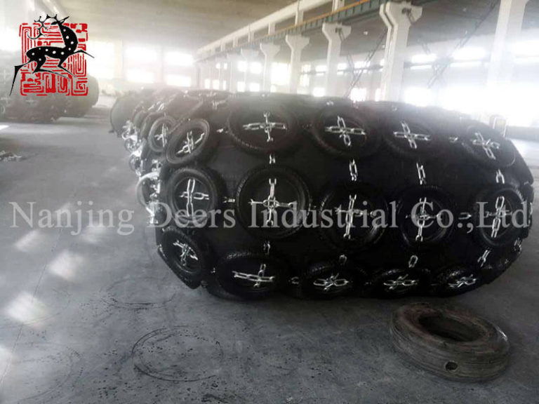 Production News of Pneumatic Rubber Fender