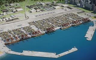Construction of Anaklia Deep Sea Port