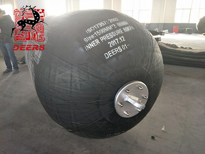 Delivery News of Pneumatic Rubber Fender
