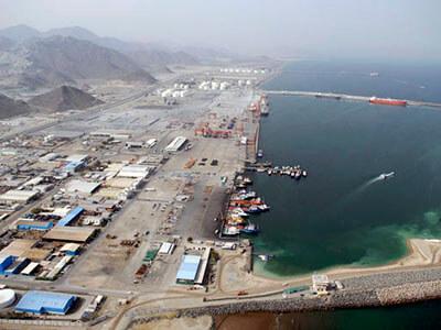 Expansion of Fujairah Port