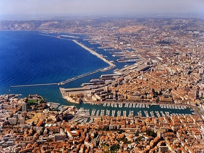 Construction of Marseille Port